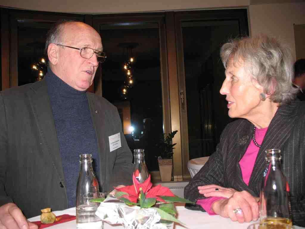 Dr. R. Goldammer zusammen mit stv. Landrätin Uta Gräfin Strachwitz