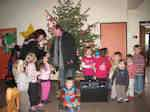 Vorweihnachtliche Bescherung in der Kindertagesstätte Steinbüchel