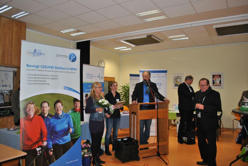 Laudatio für den VFG Meckenheim durch den Präsidenten des KreisSportBundes Wolfgang Müller