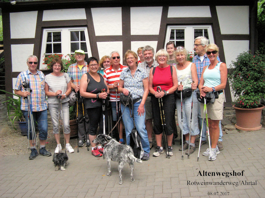Nordic Walking Tour des VFG Meckenheim