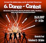 Erfolgreicher 2. Platz - die besten Tänzer des Kreises im Dance-Contest 2017