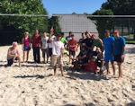 Sommer 2016 - Beachvolleyball für Flüchtlinge