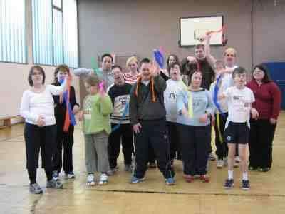 Sport für behinderte Kinder und Jugendliche