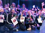 Erneut ein erfolgreicher 2. Platz - die besten Tänzer des Kreises im Dance-Contest 2019