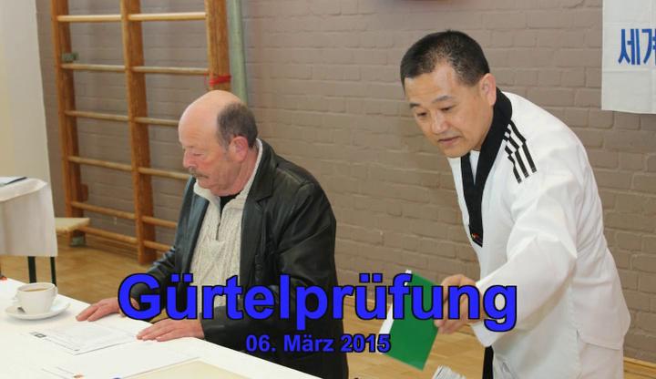 Gürtelprüfung beim VFG Meckenheim