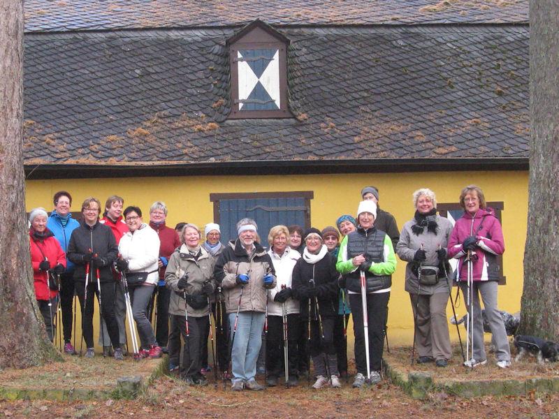 Nordic-Walking im Kottenforst - Gänseessen 2016