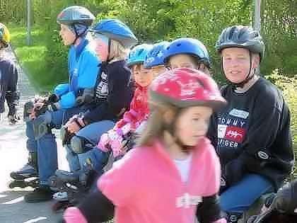 Inline Skating für Kinder, Erwachsene und Familien