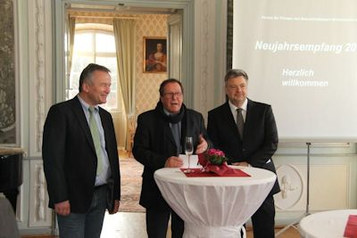 """Hans-Jürgen Hugenschimdt setzt eine """"kleine Tradition"""" fort"""