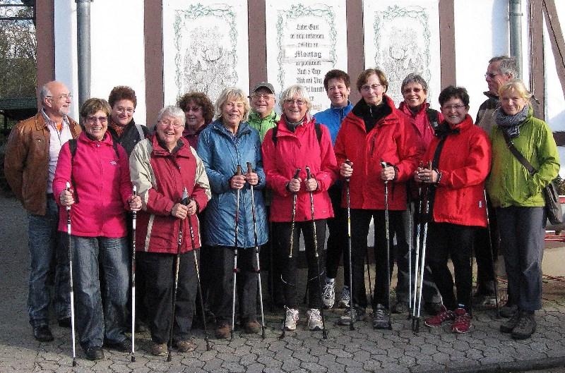 Nordic Walking im Kottenforst - November 2013