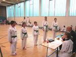Taekwondo Gürtel�prüfung beim VFG Meckenheim
