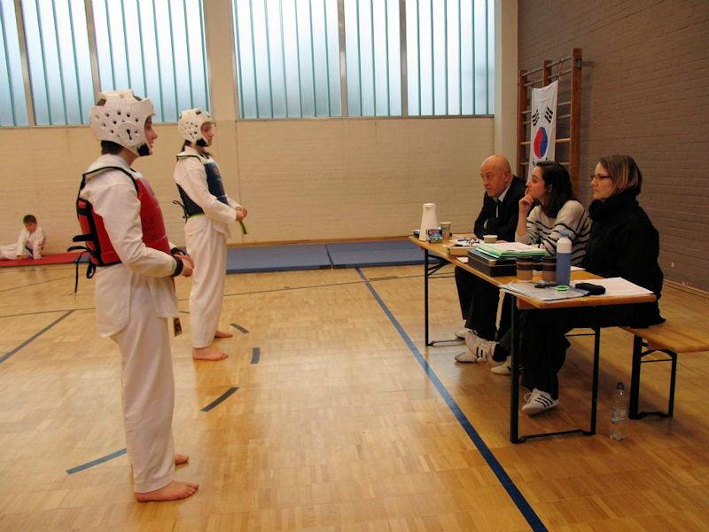 Taekwondo Gürtelprüfung beim VFG Meckenheim