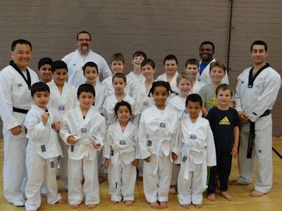 Taekwondo ist ein koreanischer Kampfsport.
