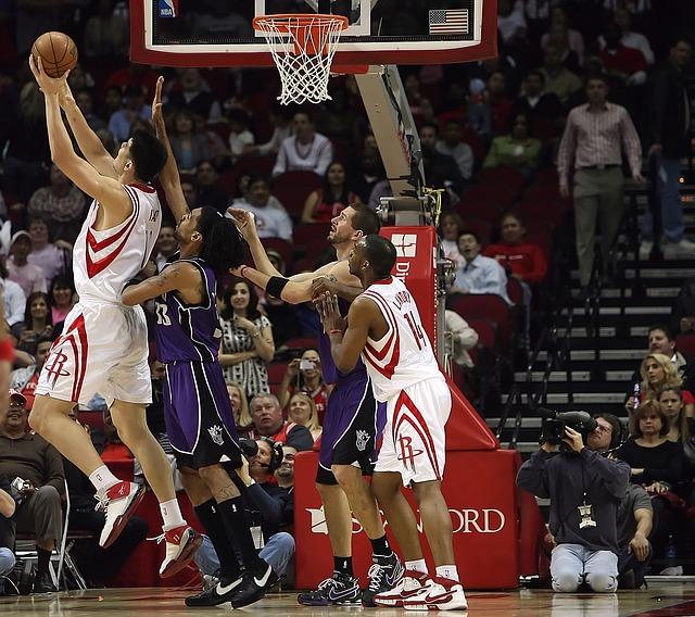 NBA Spiel, amerikanischen Basketballprofiliga